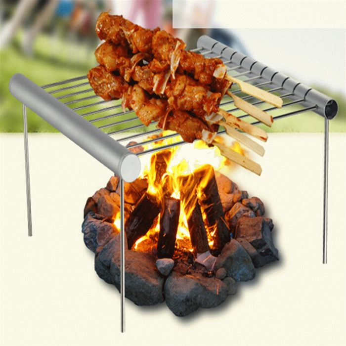 Portable BBQ Grill Stainless Steel