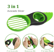 What Is Avocado Tool 3-In-1 Fruit Peeler