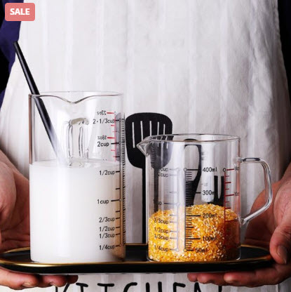 Borosilicate Glass Cup For Measuring