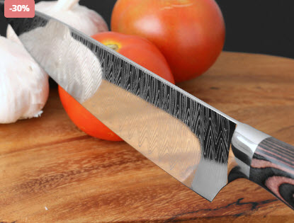 Stainless Chef Knife